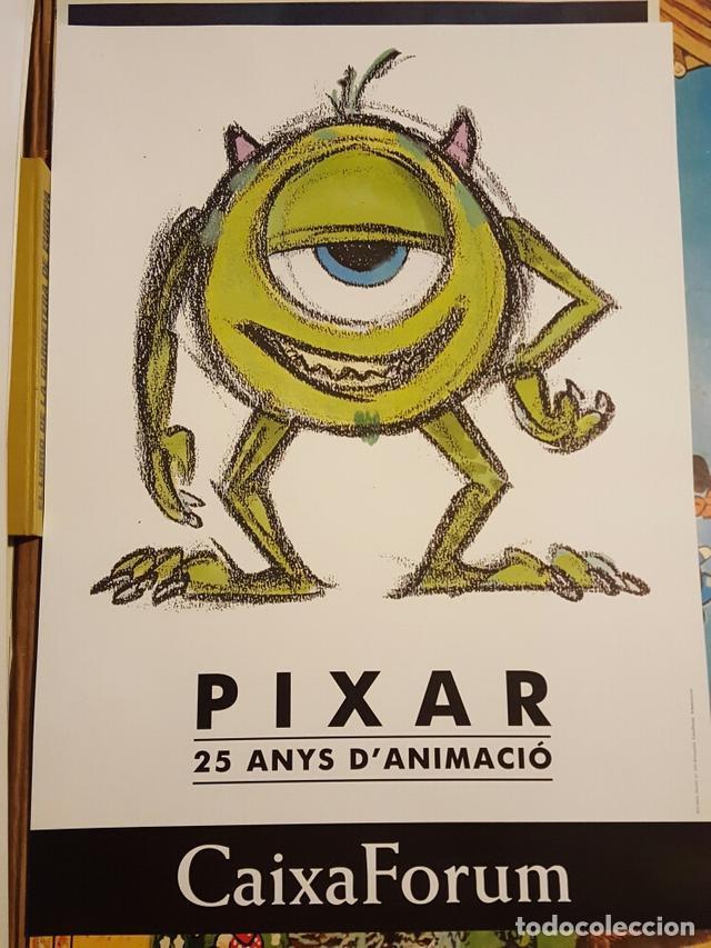PIXAR - 25 ANYS D'ANIMACIO - POSTER POSTER DE LA EXPOSICION 50 X 70 CM. (Cine - Posters y Carteles - Infantil)