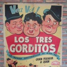 Cine: CARTEL ARAJOL. LOS TRES CERDITOS. Lote 132772518