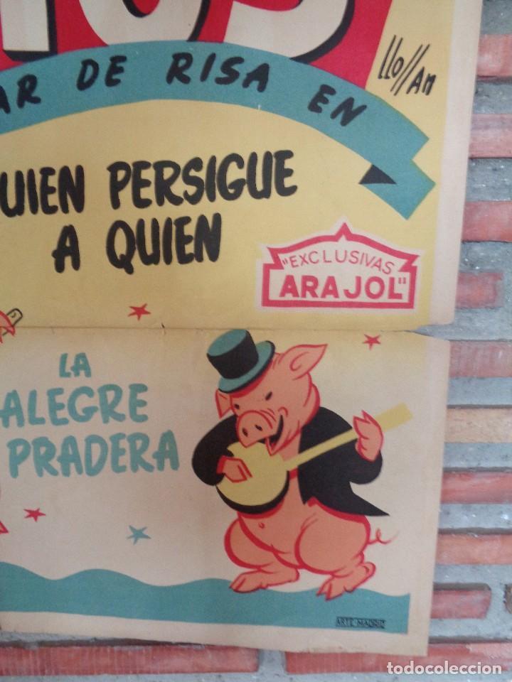 Cine: CARTEL ARAJOL. LOS TRES CERDITOS - Foto 2 - 132772518