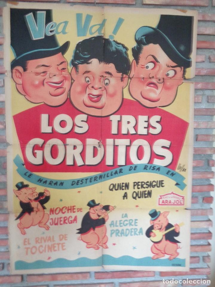 Cine: CARTEL ARAJOL. LOS TRES CERDITOS - Foto 3 - 132772518