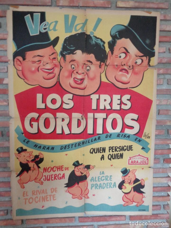 Cine: CARTEL ARAJOL. LOS TRES CERDITOS - Foto 4 - 132772518