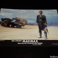 Cine: CARTEL DE CINE 33,5 X 23,5 CMS. MAD MAX CÚPULA DEL TRUENO, MEL GIBSON / TINA TURNER. ORIGINAL 1985.. Lote 132774282