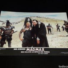 Cine: CARTEL DE CINE 33,5 X 23,5 CMS. MAD MAX CÚPULA DEL TRUENO, MEL GIBSON / TINA TURNER. ORIGINAL 1985.. Lote 132774578