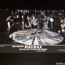 Cine: CARTEL DE CINE 33,5 X 23,5 CMS. MAD MAX CÚPULA DEL TRUENO, MEL GIBSON / TINA TURNER. ORIGINAL 1985.. Lote 132774754