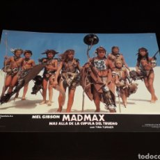 Cine: CARTEL DE CINE 33,5 X 23,5 CMS. MAD MAX CÚPULA DEL TRUENO, MEL GIBSON / TINA TURNER. ORIGINAL 1985.. Lote 132774806
