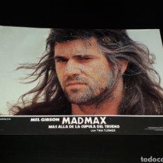 Cine: CARTEL DE CINE 33,5 X 23,5 CMS. MAD MAX CÚPULA DEL TRUENO, MEL GIBSON / TINA TURNER. ORIGINAL 1985.. Lote 132774814