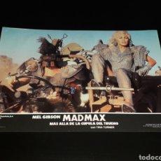 Cine: CARTEL DE CINE 33,5 X 23,5 CMS. MAD MAX CÚPULA DEL TRUENO, MEL GIBSON / TINA TURNER. ORIGINAL 1985.. Lote 132774834