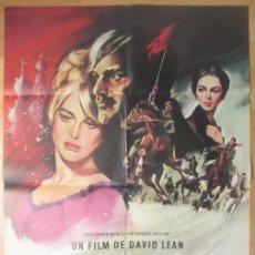Cine: CARTEL CINE, DOCTOR ZHIVAGO, GERALDINE CHAPLIN, JULIE CHRISTIE, 1966, C1447. Lote 132808462