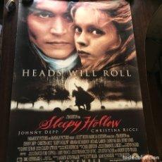 Cine: SLEEPY HOLLOW. 99 X 68 CM. Lote 132830353