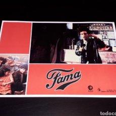 Cine: CARTEL DE CINE 29,5 X 21 CMS. PELÍCULA *FAMA* FAME, MGM EDICIÓN ESPAÑOLA. ORIGINAL 1980.. Lote 132943126