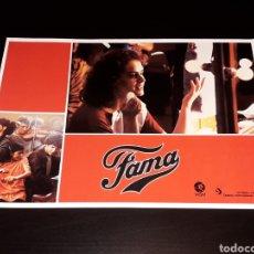 Cine: CARTEL DE CINE 29,5 X 21 CMS. PELÍCULA *FAMA* FAME, MGM EDICIÓN ESPAÑOLA. ORIGINAL 1980.. Lote 132944086