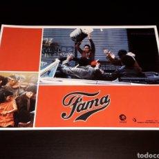 Cine: CARTEL DE CINE 29,5 X 21 CMS. PELÍCULA *FAMA* FAME, MGM EDICIÓN ESPAÑOLA. ORIGINAL 1980.. Lote 132944962