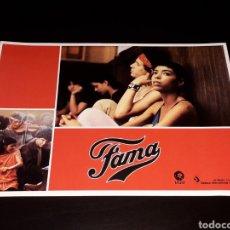 Cine: CARTEL DE CINE 29,5 X 21 CMS. PELÍCULA *FAMA* FAME, MGM EDICIÓN ESPAÑOLA. ORIGINAL 1980.. Lote 132945066
