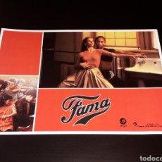 Cine: CARTEL DE CINE 29,5 X 21 CMS. PELÍCULA *FAMA* FAME, MGM EDICIÓN ESPAÑOLA. ORIGINAL 1980.. Lote 132945754