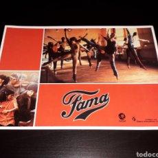 Cine: CARTEL DE CINE 29,5 X 21 CMS. PELÍCULA *FAMA* FAME, MGM EDICIÓN ESPAÑOLA. ORIGINAL 1980.. Lote 132945826