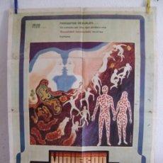 Cine: CARTEL CINE ORIG VINIERON DE DENTRO DE (1975) 70X100 / DAVID CRONENBERG. Lote 133371266