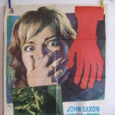 Cine: CARTEL CINE ORIG LA MUCHACHA QUE SABÍA DEMASIADO (1963) 70X100 / MARIO BAVA / SOLIGÓ. Lote 133445102