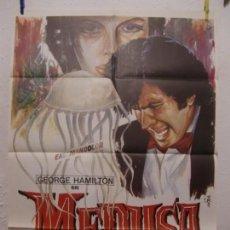 Cine: CARTEL CINE ORIG MEDUSA (1973) 70X100 / GEORGE HAMILTON / LUCIANA PALUZZI / CAMERON MITCHELL. Lote 133482258