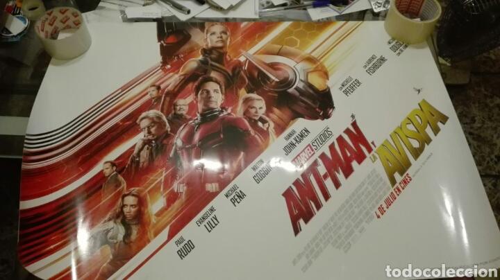 POSTER ORIGINAL ANT-MAN Y LA AVISPA 50X70 (Cine - Posters y Carteles - Ciencia Ficción)