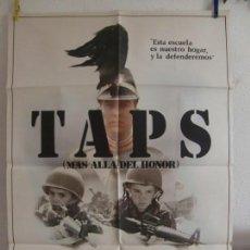 Cinéma: CARTEL CINE ORIG TAPS (MAS ALLA DEL HONOR) (1981) 70X100 / GEORGE C. SCOTT / TIMOTHY HUTTON. Lote 133856406