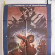 Cine: CARTEL CINE ORIG PUÑO MORTAL (1982) 70X100 / ELLIOT HONG / MAX THAYER. Lote 133958758
