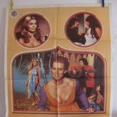Cine: CARTEL CINE ORIG EL ULTIMO CUENTO DEL DECAMERON (1972) 70X100 / SERGIO LEONARDI / KRISTA NELL,. Lote 133962890