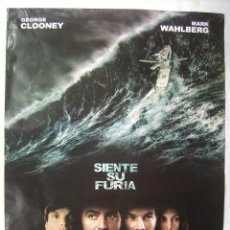 Cine: TORMENTA PERFECTA, CON GEORGE CLOOMEY. POSTER 67X 96 CMS. 2000.. Lote 133979886
