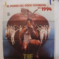 Cine: CARTEL CINE ORIG THE APPLE (LA MANZANA) (1980) 70X100 / CATHERINE MARY STEWART / MENAHEM GOLAN. Lote 133995126