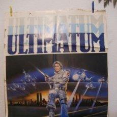 Cine: CARTEL CINE ORIG ULTIMATUM (1982) 70X100 / KEN WAHL / ALBERTA WATSON / JEREMIAH SULLIVAN. Lote 133997950