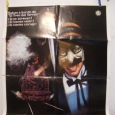 Cine: CARTEL CINE ORIG EL TREN DEL TERROR (1980) 70X100 / ROGER SPOTTISWOODE / JAMIE LEE CURTIS. Lote 133998474