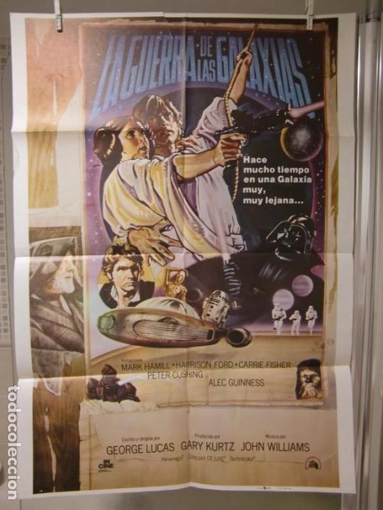 CARTEL CINE ORIG LA GUERRA DE LAS GALAXIAS - STAR WARS - (1977) 70X100 / GEORGE LUCAS (Cine - Posters y Carteles - Ciencia Ficción)