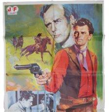Cine: LOS CUATREROS. JANO (DISEÑO) TORRADO RAMÓN (DIRECTOR) 1980 EDMUND PURDOM, FRANK LATIMORE, ETC. Lote 134187850