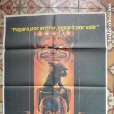Cine: CARTEL POSTER CINE LA CASA DE LOS HORRORES. Lote 134242566