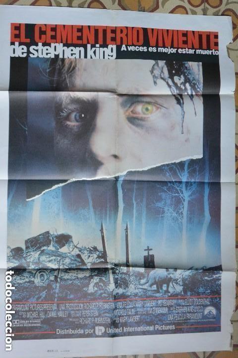 CARTEL POSTER CINE CEMENTERIO VIVIENTE (Cine - Posters y Carteles - Terror)