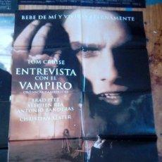 Cine: CARTEL O POSTER DE CINE ENTREVISTA CON EL VAMPIRO AÑOS 80-90. Lote 134335478