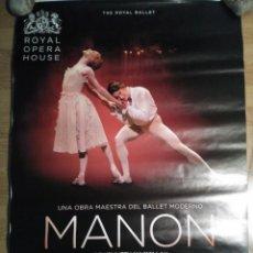 Cine: OPERA: MANON - APROX 70X100 CARTEL ORIGINAL CINE (L60). Lote 134342610