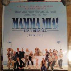 Cine: MAMMÁ MIA, UNA Y OTRA VEZ - APROX 70X100 CARTEL ORIGINAL CINE (L60). Lote 145135781