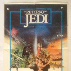 Cine: EL RETORNO DEL JEDI - POSTER CARTEL ORIGINAL CINE - STAR WARS. EPISODE VI: RETURN OF THE JEDI. Lote 134544998