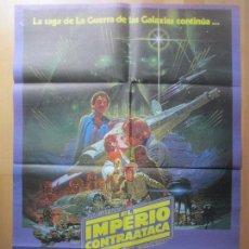 Cine: CARTEL CINE, LA GUERRA DE LAS GALAXIAS, EL IMPERIO CONTRAATACA, HARRISON FORD, 1980, C1150. Lote 134555438
