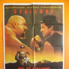 Cine: CARTEL, POSTER CINE - ORIGINAL - YO, EL HALCON - STALLONE - 1987.. R-10023. Lote 134749446