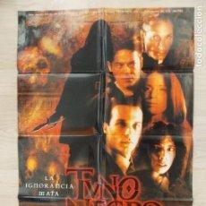 Cine: CARTEL, POSTER CINE - ORIGINAL - TUNO NEGRO - DIRECCION PEDRO BARBERO - 2001 - ESPAÑA... R-10031. Lote 134831850