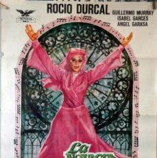 Cine: LA NOVICIA REBELDE. ROCÍO DURCAL. CARTEL ORIGINAL 1971. 70X100. Lote 135019538