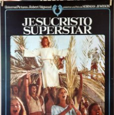 Cine: JESUCRISTO SUPERSTAR. NORMAN JEWISON. CARTEL ORIGINAL 1973. 70X100. Lote 135024546