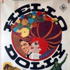 Cine: HELLO DOLLY. BARBRA STREISAND-WALTER MATTHAU. CARTEL ORIGINAL 1970. 70X100. Lote 135024770