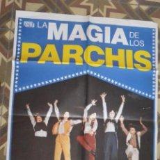 Cine: CARTEL POSTER CINE LA MAGIA DE PARCHIS. Lote 135329142