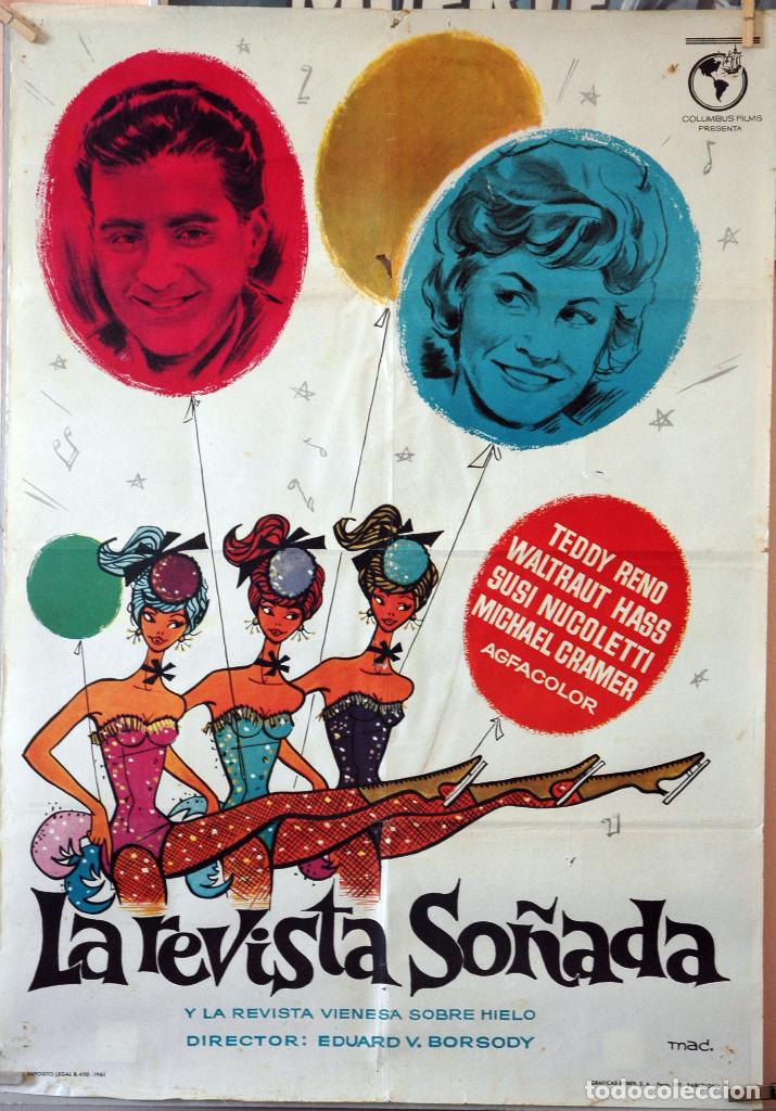 LA REVISTA SOÑADA. TEDDY RENO. CARTEL ORIGINAL 1961. 70X100 (Cine - Posters y Carteles - Musicales)