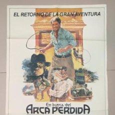 Cine: CARTEL EN BUSCA DEL ARCA PERDIDA 1981. Lote 135515618