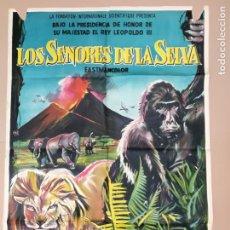 Cine: CARTEL,LOS SEÑORES DE LA SELVA 1959. Lote 135517286