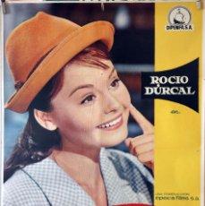Cine: ROCÍO DE LA MANCHA. ROCÍO DURCAL-LUIS LUCÍA. CARTEL ORIGINAL 1963. 70X100. Lote 135555430