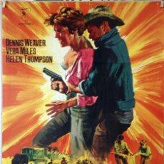Cine: MISSION BATANGA. VERA MILES-DENNIS WEAVER. CARTEL ORIGINAL 1968. 70X100. Lote 135556222